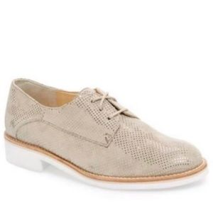 Paul Green lace up loader Oxfords Gold/Tan Size 10